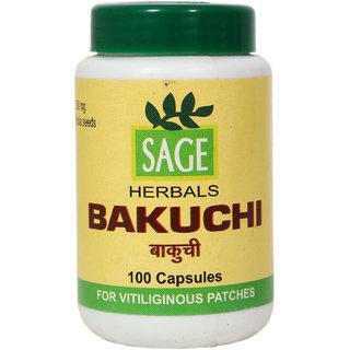 Sage Herbals Bakuchi Capsules - 100 Capsules