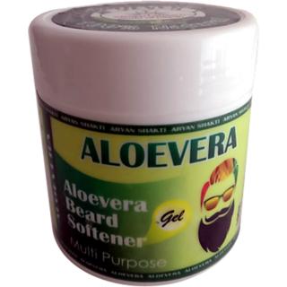 Aryan Shakti Aloevera Beard Softener Gel 100gm premium  Natural