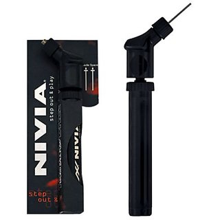 Nivia Double Action Ball Pump For Football Volleyball BasketBall Other Balls