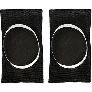 Stretchy Cotton Knee Pads Sports Padded Knee Sleeves Dancing Knee Protective Brace Support