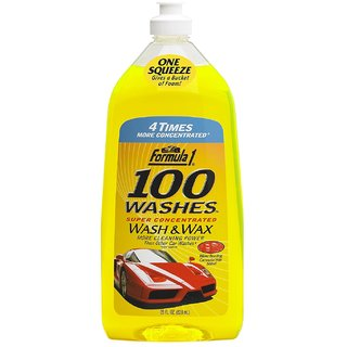 formula1 100 Washes Wash and Wax(828ml) New