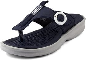 Adda Comfortable Navy Color Flipflops For Women