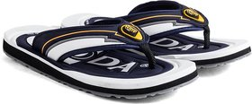 ADDA COMFORTABLE NAVY/WHITE COLOR FLIPFLOPS FOR MEN
