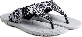 Adda Comfortable Grey Color Flipflops For Women - 139338580