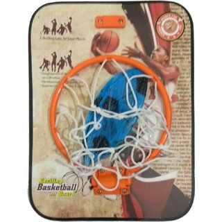 SHRIBOSSJI Kirat Basket ball kit for kids playing indoor outdoor with hanging board and ball - Premium Quality