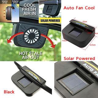 Auto Cool Car Solar Powered Side Window Cooling Fan