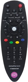 VIDEOCON D2H SET TOP REMOTE WITH TV FUNCTION KEYS NEW M