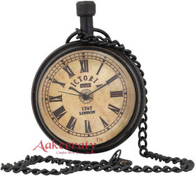 Aakeeraty Pretty Retro Look Brass Pocket Watch Chain