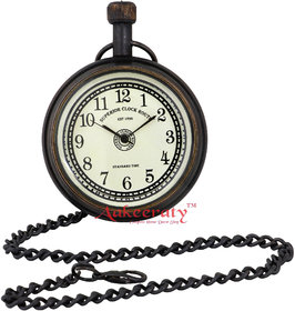 Aakeeraty Travel Antiques Brass Pocket Watch Chain