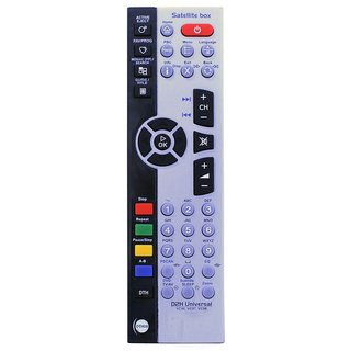 MASE Videocon d2h Satellite Box STB Remote Control