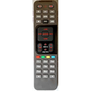 Compatible Airtel Digital TV Remote control set dish d2h air tel dth remote