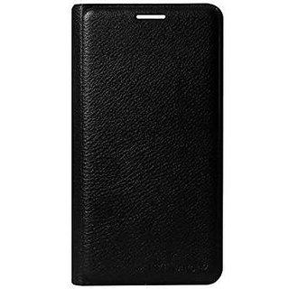 Samsung J7 Max Flip Case Cover - Black