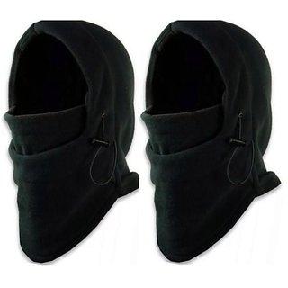 2 PC Universal Face Mask For Bike Riding Gift Under Helmet Neck Warmer