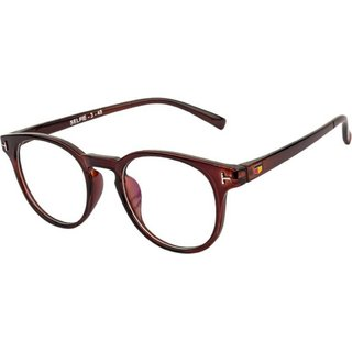BULL-I BROWN ROUND FRAME