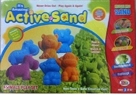 SHRIBOSSJI EKTA ACTIVE SAND SEA CREATURES, ANIMAL PLAY SET FOR KIDS