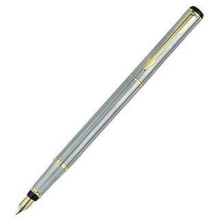 Baoer 801 Stainless steel Fountain Pen Nib Fine slim