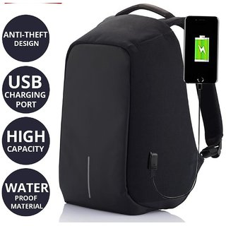 742de7a26a6e Buy Anti Theft Waterproof Secure Office Bag 15 Laptop Backpack for School  College Online - Get 50% Off