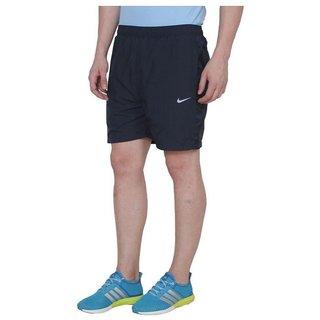 Nike Black Polyester Lycra Shorts