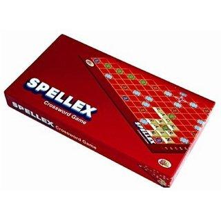 SHRIBOSSJI Spellex Crossword Board Game For Kids Word Play Board Game