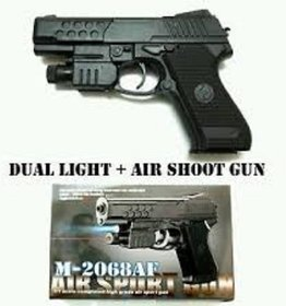Shribossji Air Sports Laser Gun With 6mm Bullets