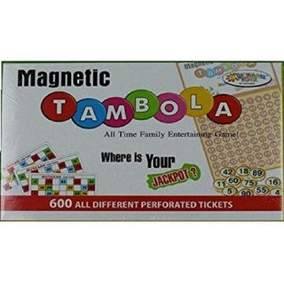 SHRIBOSSJI Magnetic Tambola Game Set (all time family entertaining game) Board Game