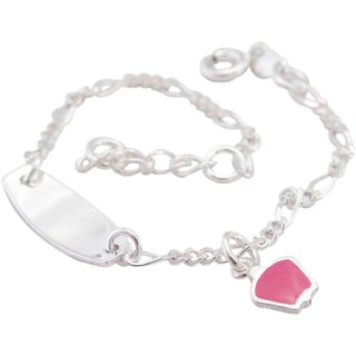 La Belle Vie (LBV) 925 Sterling Silver Charm Bracelet For Women/Girls (PC-BCR-1553)