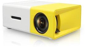 SCORIA YG300 400LM Portable Mini Home Theater LED Proje