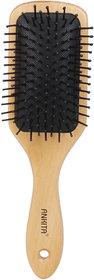 Ankita Paddle Hair Brush (Colour  Wooden) size 24 x 3 x 2
