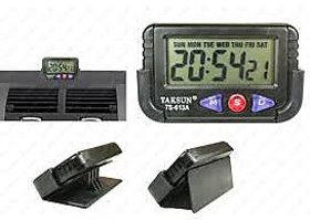 Car Dashboard Clock / Office-Stopwatch- Warranty (set of 2pc)
