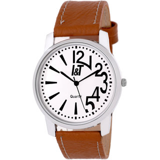 I & T Exclusive Analog Brown Wrist watch for Men/ Boys