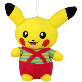 Yellow Pikachu Pokemon Stuffed Soft Plush Toy (41 cm)