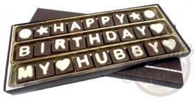 Birthday Chocolate Gift for Husband/Hubby
