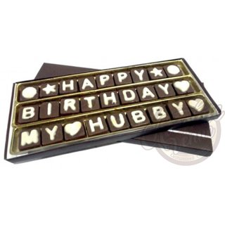Birthday Chocolate Gift for Husband/Hubby