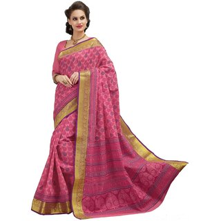 sudarshansilk Pink Cotton