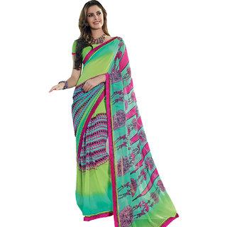 40d6f6cde5e Buy Riya Multi Color Designer Degital Printed Saree Online - Get 50% Off