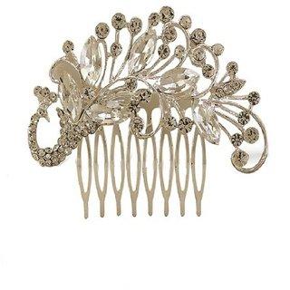 Vorra Fashion Unique Design Peacock Hair Pin For Women's