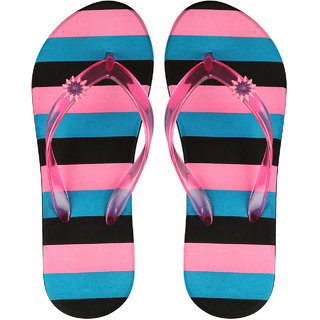 Birde Multicolor EVA Slippers For Women