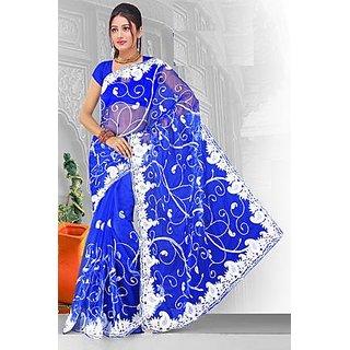 Net Party Wear Saree