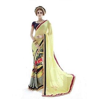 SRI SKANDA CREATIONS Creations Printed Fashion Cotton Sari