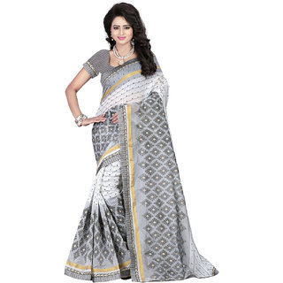 Fashiondeal Multi Color Cotton Designer Saree