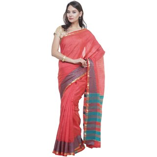 SUDARSHAN NEW RAW SILK SAREE-Red-SUT2702-VQ-Raw Silk