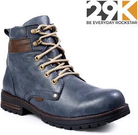 29K Men's Blue Lace-up Boot