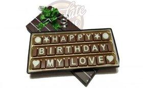 Birthday Chocolate Gift for Love