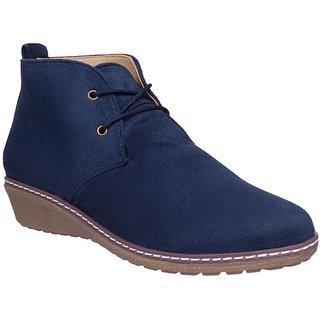 Flora Comfort Blue Casual Gladiator Shoe