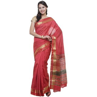 SUDARSHAN NEW RAW SILK SAREE-Red-SUT2699-VQ-Raw Silk