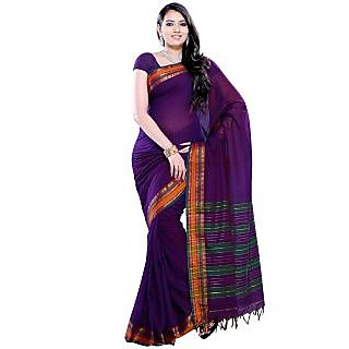 Women's Multicolour Cotton Saree