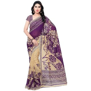 Zobia Suit And Sarees Womens Georgette Saree