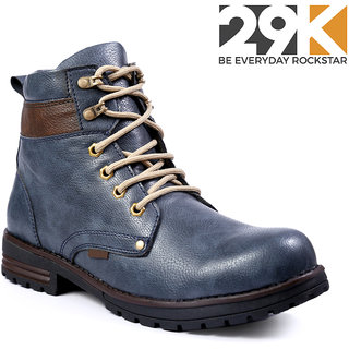 29K Men's Blue Lace-up Boot