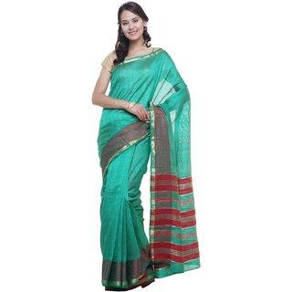 SUDARSHAN NEW RAW SILK SAREE-Green-SUT2700-VQ-Raw Silk
