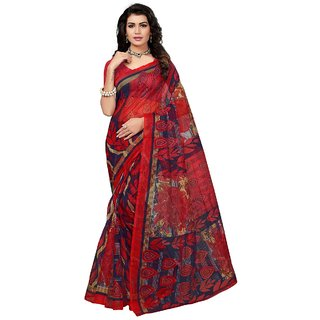 Womaniya Online Designer Multi Bhagalpuri Saree
